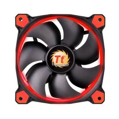 Cooler Fan Thermaltake Riing 120mm Led Vermelho 1500RPM CL-F038-PL12RE-A