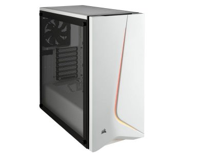 Gabinete Gamer Corsair carbide series spech-06 RGB branco, CC-9011147-WW