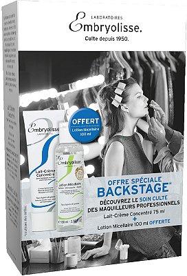 Kit Backstage - Lait-crème Concentré e Agua Micelar
