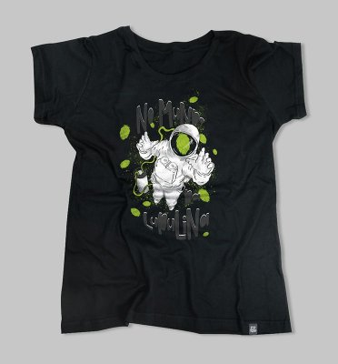 Camiseta no mundo da lupulina Feminina