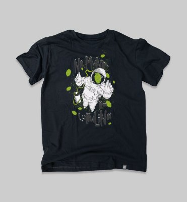 Camiseta no mundo da lupulina Masculina