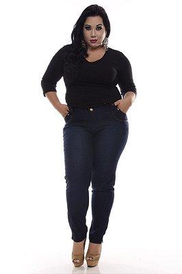 Calça Plus Size Jeans Blue