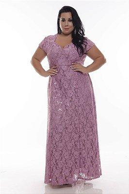Vestido Plus Size Festa Lorena