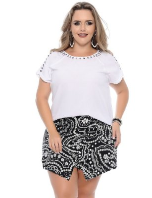 Shorts Saia Plus Size Sabrina