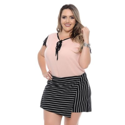 Shorts Saia Plus Size Ivete