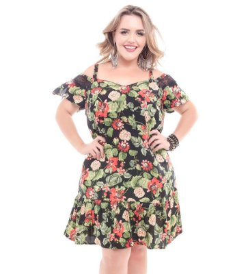 Vestido Plus Size Luisa