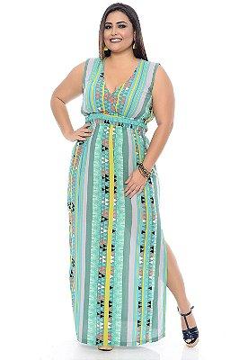 Vestido Longo Plus Size Jade