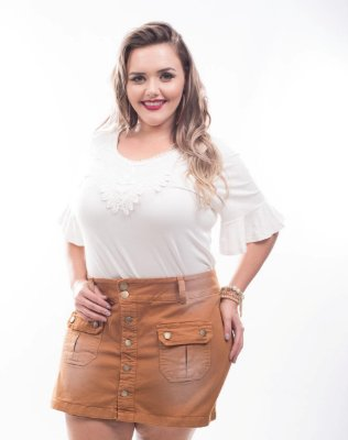 Shorts Saia Plus Size Lover