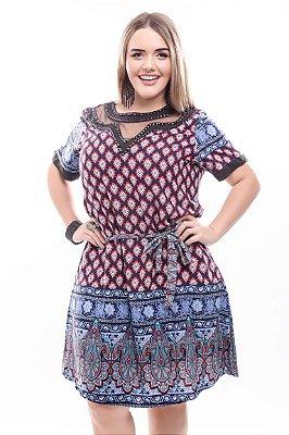 Vestido Plus Size Heliora