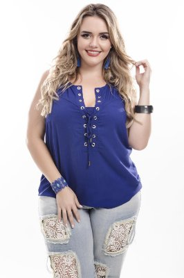Blusa Plus Size Evelyn