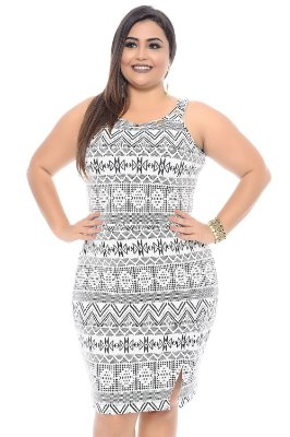 Vestido Plus Size Lia
