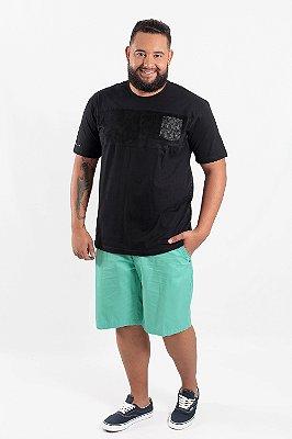 Bermuda Masculina Plus Size Messi