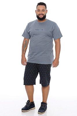 Bermuda Masculina Plus Size Pogba