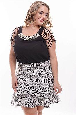 Blusa Plus Size Giselle