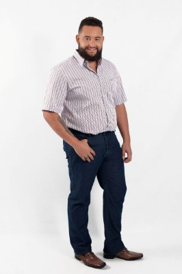Calça Masculina Plus Size Jeans
