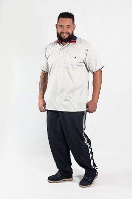Calças Masculina Plus Size Tactel