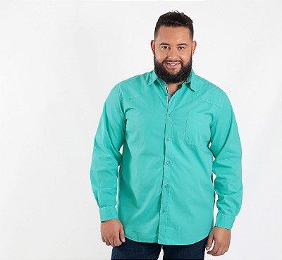 Camisa Masculina Plus Size Napoli