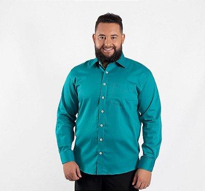 Camisa Masculina Plus Size Miami