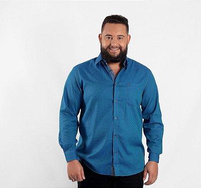 Camisa Masculina Plus Size Viena