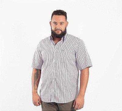 Camisa Masculina Plus Size Madri