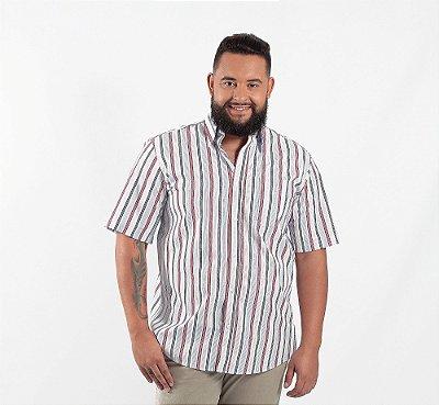 Camisa Masculina Plus Size Barcelona