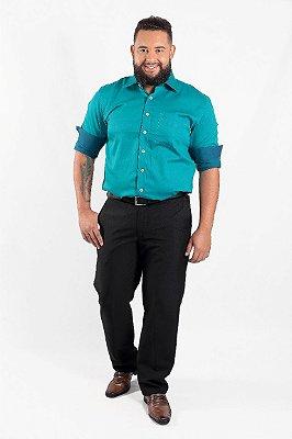 Calça Masculina Plus Size Social