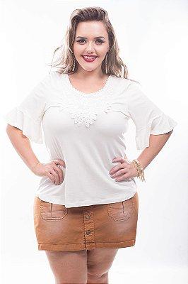 Blusa Plus Size Rosana