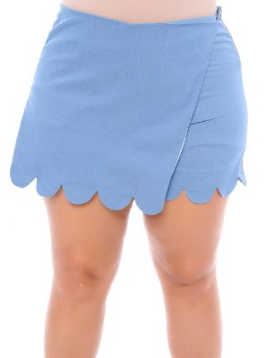 Shorts Saia Plus Size Cíntia