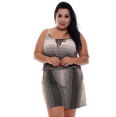 Macaquinho Plus Size Karoline