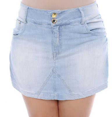Shorts Saia Plus Size Simaria