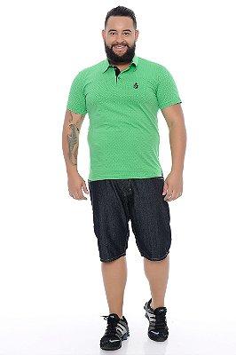 Polo Masculina Plus Size Anael