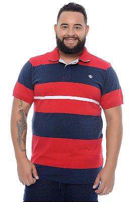 Polo Masculina Plus Size Filipe