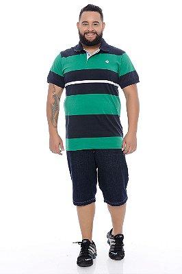 Polo Masculina Plus Size Gael