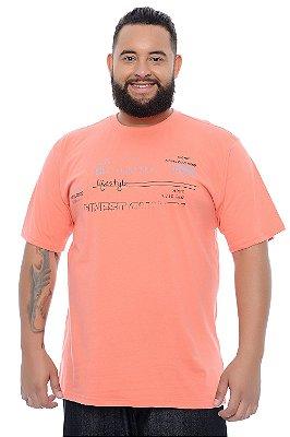 Camiseta Masculina Plus Size Camilo