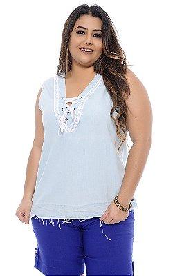Blusa Plus Size Clarina