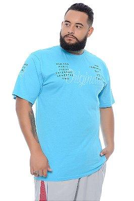 Camiseta Masculina Plus Size Elias