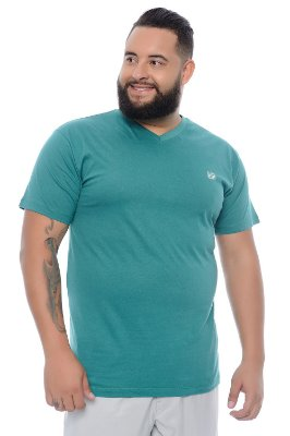Camiseta Masculina Plus Size Flavio