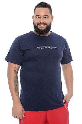Camiseta Masculina Plus Size Leonardo