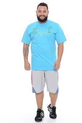 Bermuda Masculina Plus Size Tactel