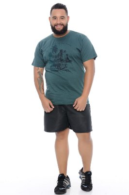 Bermuda Masculina Plus Size Tactel Erike