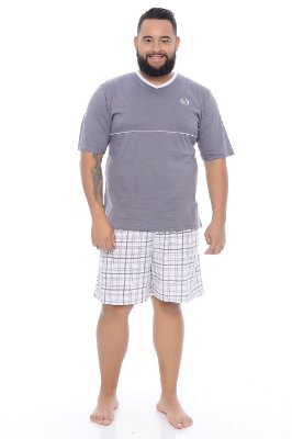 Pijama Masculino Plus Size Héber