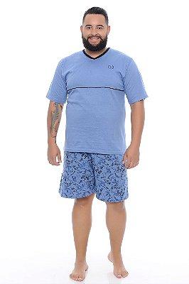 Pijama Masculino Plus Size Hugo