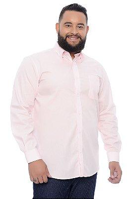 Camisa Masculina Plus Size Abel