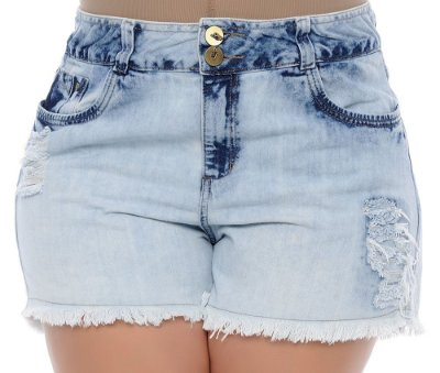 Shorts Plus Size Jeans Naiara