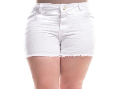 Shorts Plus Size Manu