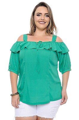 Blusa Plus Size Esmeralda