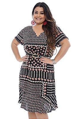 Vestido Plus Size Reyko