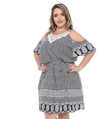 Vestido Plus Size Mia