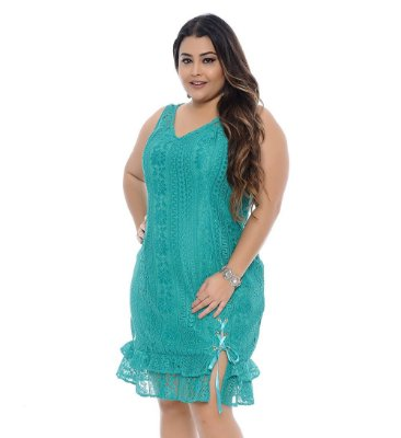 Vestido Plus Size Esmeralda