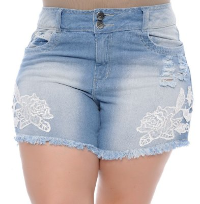 Shorts Plus Size Tânia Mara